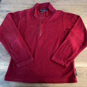 Rugged Bear Red Fleece Size 12/14
